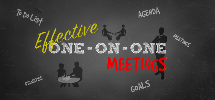 Effective One-on-One Meetings: A Tool to Improve Employee Effectiveness