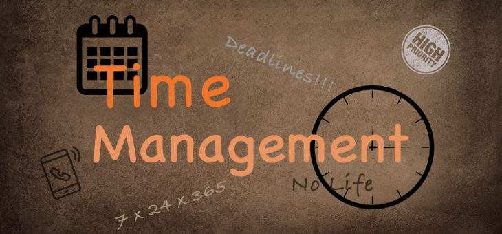 Time Management:  Regain Control of Your Day