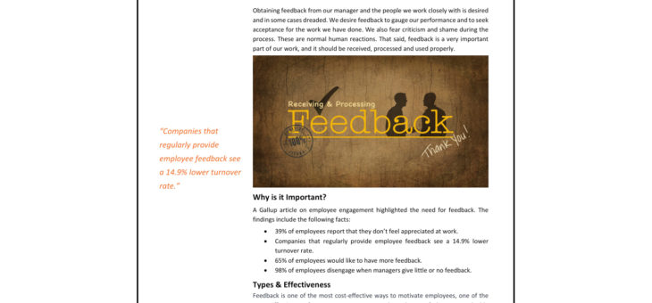 Feedback Article in PDF