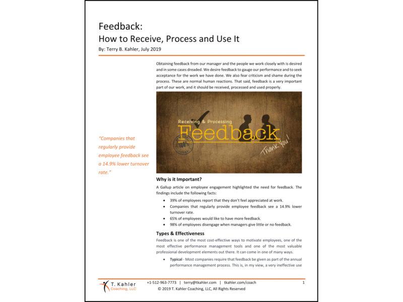 Feedback Article in PDF
