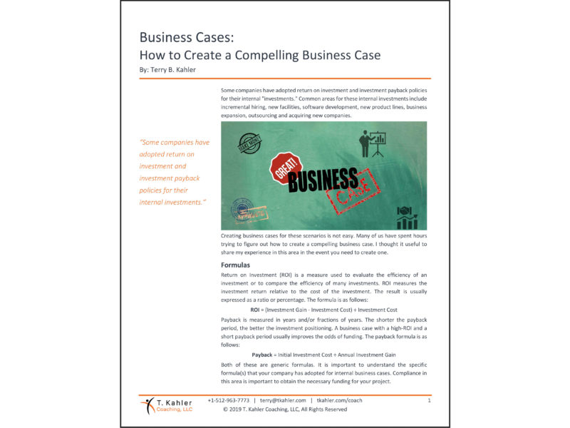 How to Create a Compelling Business Case Article in PDF