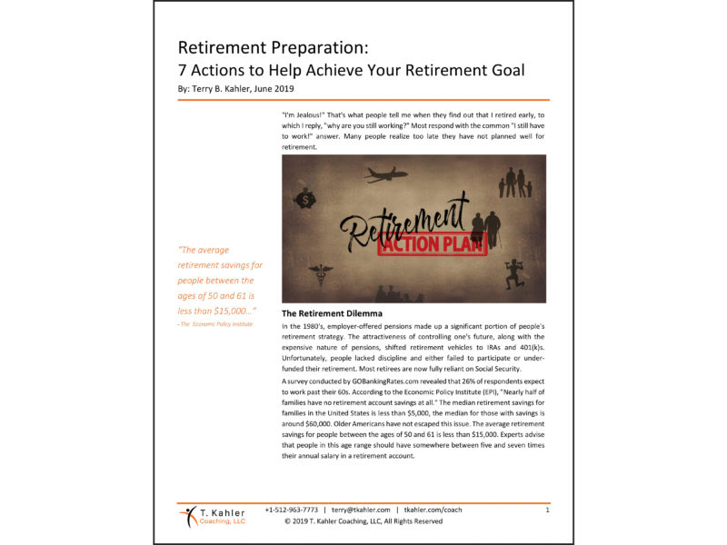 Retirement Article in PDF